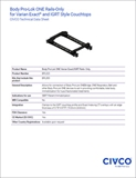 Body Pro-Lok ONE Rails-Only Technical Data Sheet